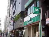 新宿区内藤町、外苑西通り周辺